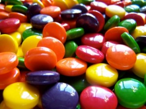 picture of colourful sweets