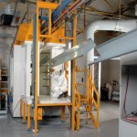 powder coating booth at Euro Quality Coatings in Cardiff